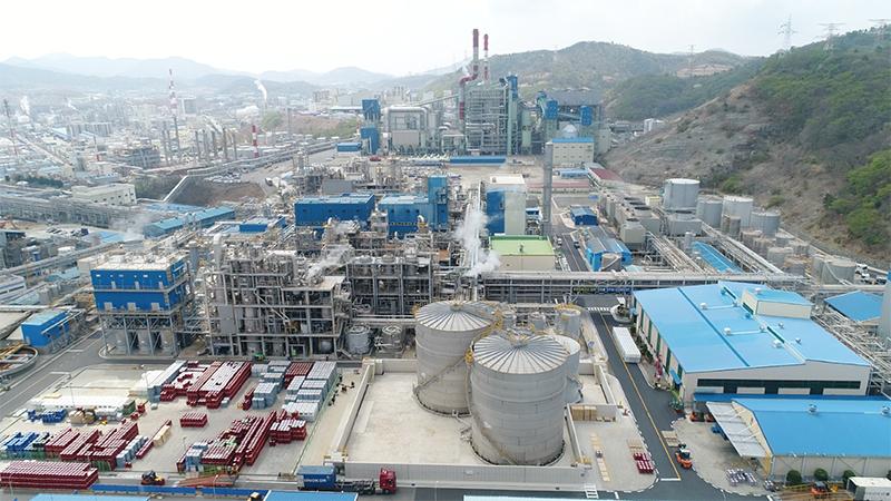 錦湖三井化学麗水工場