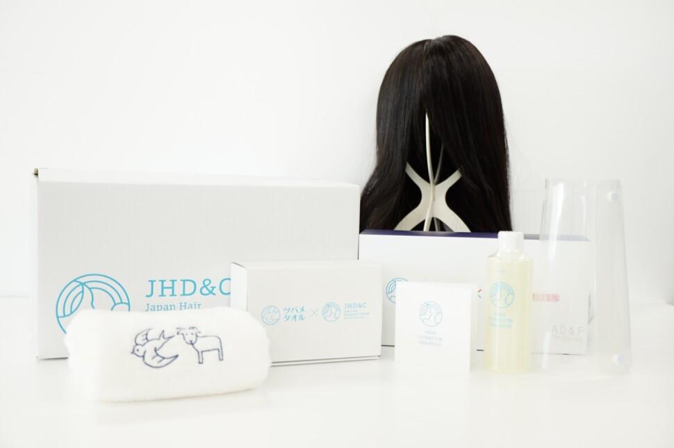 JHD&Cが提供している医療用ウィッグ