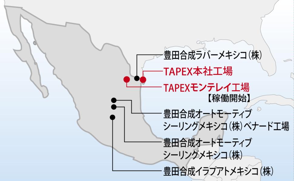 メキシコの生産体制