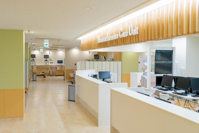 神奈川県立こども医療センターのNICU