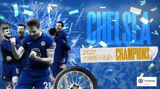 欧州チャンピオン獲得ビジュアル