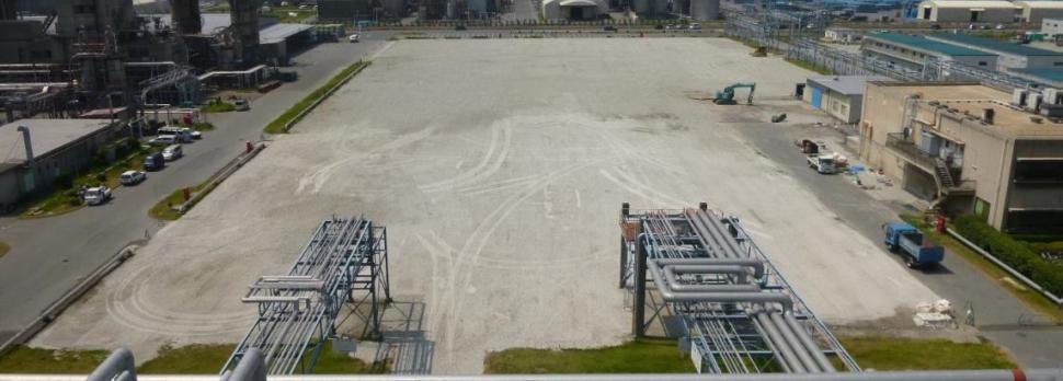 建設予定地(プライムポリマー市原工場)