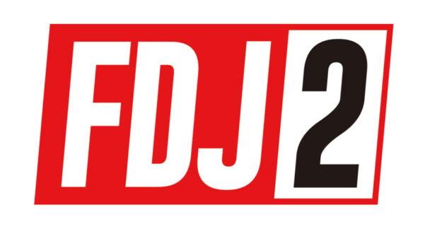 「FDJ2」ロゴ