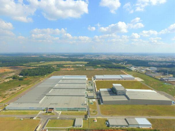 ブラジル工場外観