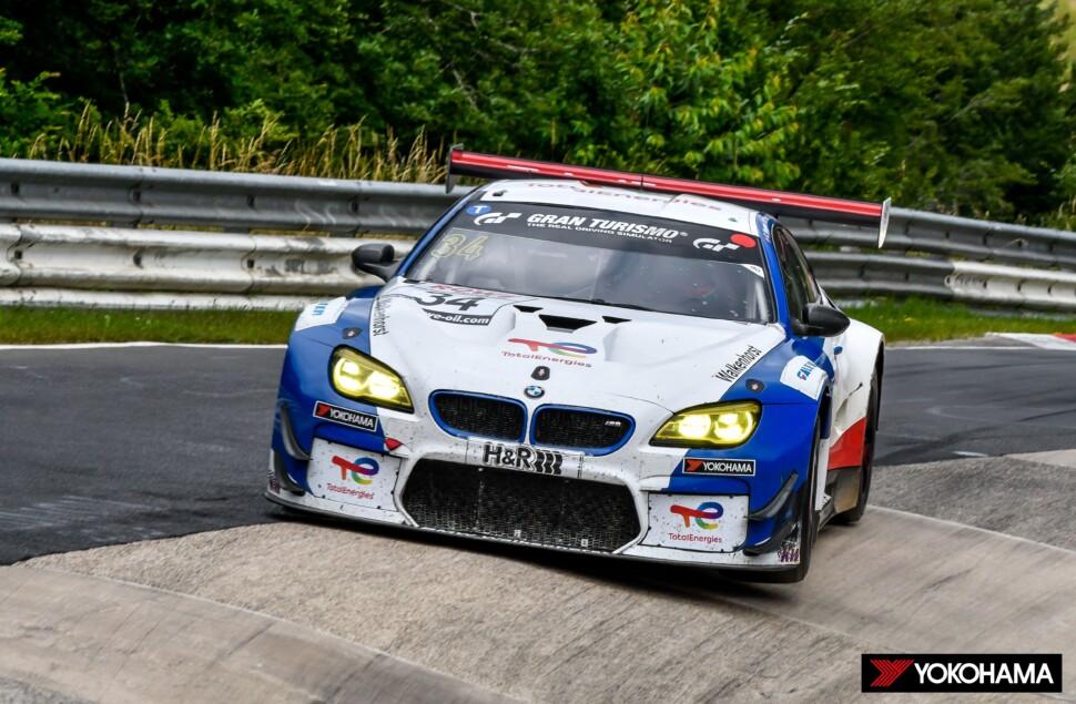 「NLS」シリーズ第6戦で総合優勝した「BMW M6 GT3」