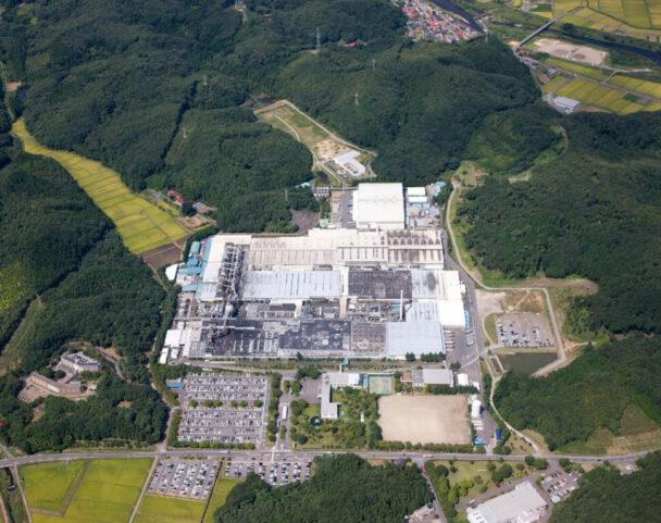 福島県白河工場外観