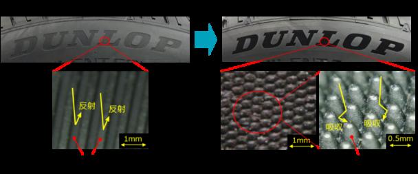 従来のデザインと「Nano Black」との違い