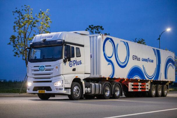 Plus社と業務提携開始 グッドイヤー、トラック自動運転で