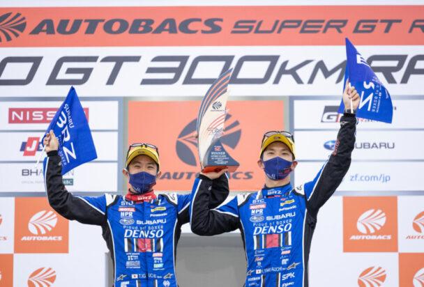ダンロップ装着車が優勝 SUPER GT第5戦