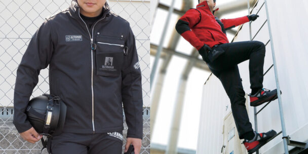 2WAYで使用可能なボンディングジャケット