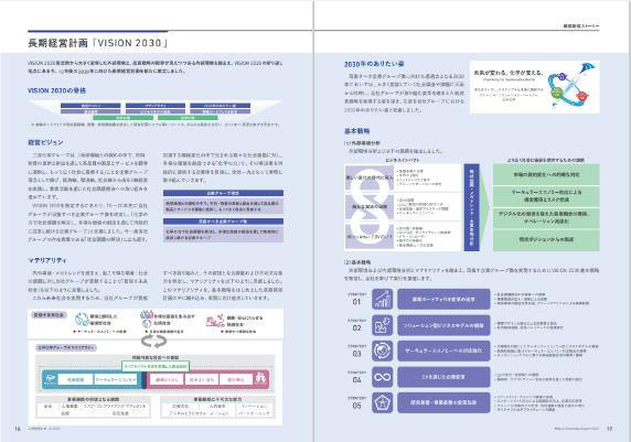 長期経営計画「VISION 2030」策定