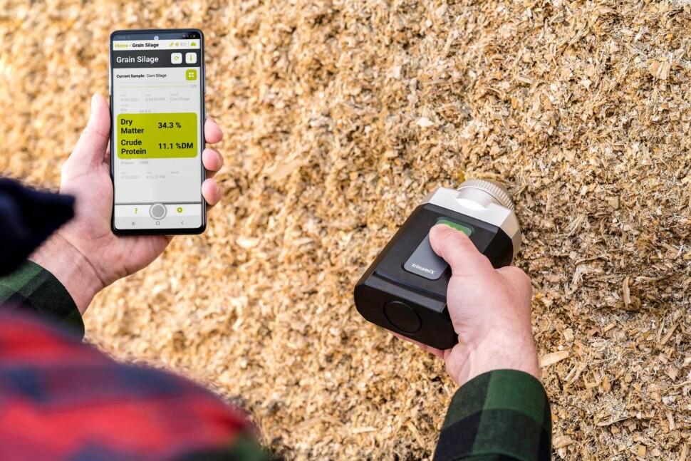 NIR分光ソリューションを飼料業界へ導入