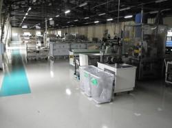 生産革新活動により清流化を実施した製造現場