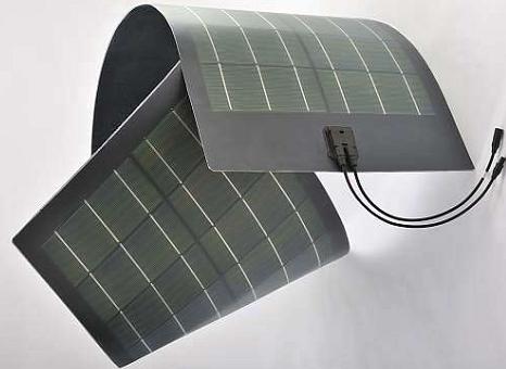 グローバルソーラーエナジー社のCIGS系フレキシブル太陽電池「Power Flex」