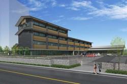 研修センターの完成予想イメージ