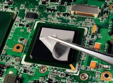 低硬度放熱シリコーンパッドのCPUへの応用